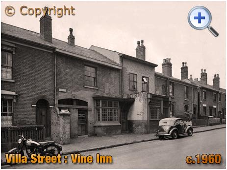 Birmingham : The Vine Inn on Villa Street in Hockley [c.1960]