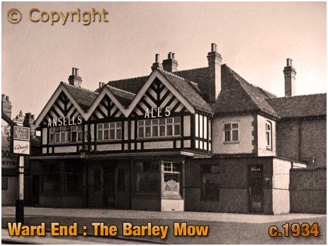 Birmingham : The Barley Mow Inn at Ward End [c.1934]