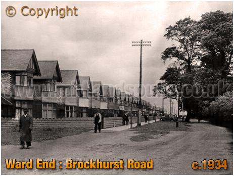 Birmingham : Brockhurst Road at Ward End [c.1934]
