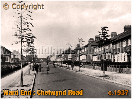 Birmingham : Chetwynd Road at Ward End [c.1937]