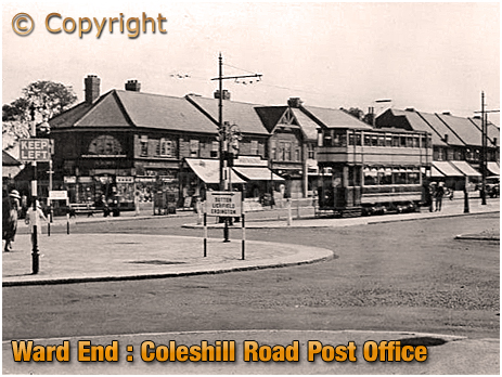 Birmingham : Coleshill Road Post Office at Ward End [c.1930]
