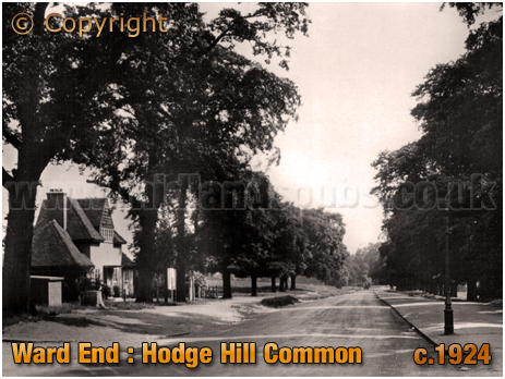 Birmingham : Hodge Hill Common at Ward End [c.1924]