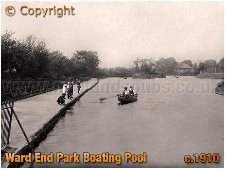 Birmingham : Ward End Park Boating Pool [c.1912]