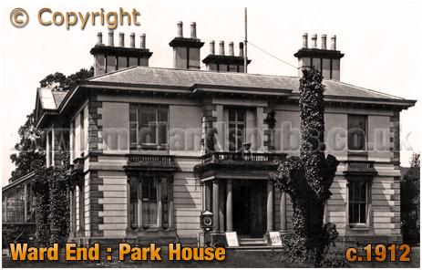 Birmingham : Ward End House in Ward End Park [c.1912]