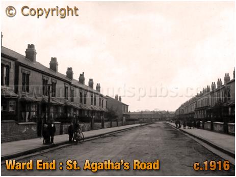 Birmingham : Saint Agatha's Road at Ward End [c.1916]