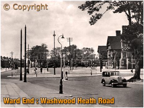 Birmingham : Washwood Heath Road from Coleshill Road at Ward End [c.1936]