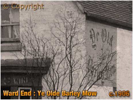 Birmingham : Wall Sign of Ye Old Barley Mow Inn at Ward End [c.1906]
