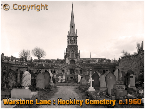 Birmingham : Hockley Cemetery on Warstone Lane [c.1960]