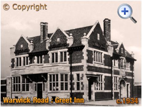 Birmingham : The Greet Inn on Warwick Road [c.1934]