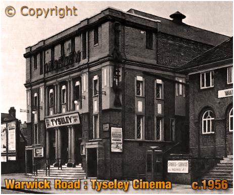 Birmingham : Tyseley Cinema on Warwick Road at Greet [c.1956]