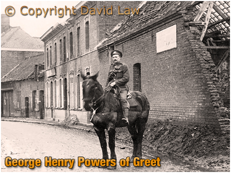 Birmingham : George Henry Powers of Greet serving in World War One [c.1918]