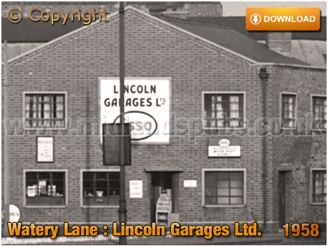 Birmingham : Lincoln Garages Limited at Bordesley [1958]