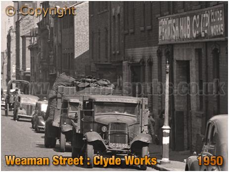 Birmingham : Clyde Works in Weaman Street [1950]