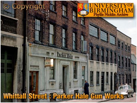 Birmingham : Gun Works of Parker Hale in Whittall Street [1960]