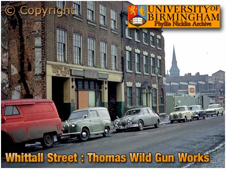Birmingham : Gun Works of Thomas Wild in Whittall Street [1963]