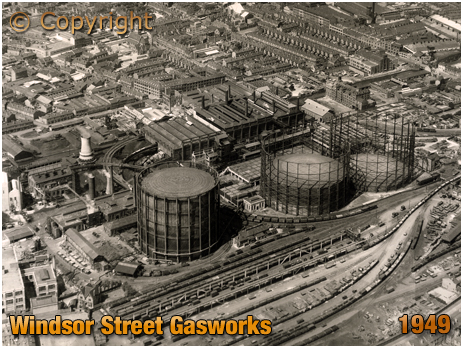 Windsor Street Gasworks at Birmingham [1949]
