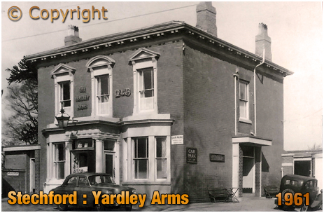 Birmingham : The Yardley Arms at Stechford in Yardley [1961]
