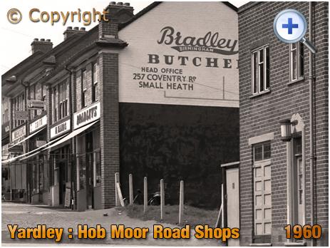 Off Licence on the corner of Newbridge Road and Hob Moor Road at Yardley [1960]
