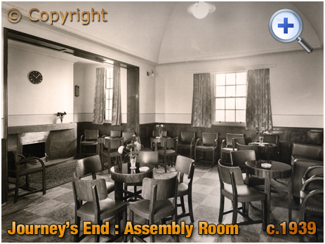 Birmingham : Assembly Room of the Journey's End at Clay Lane in Yardley [c.1939]
