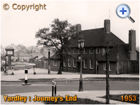 Birmingham : Clay Lane and the Journey's End at Yardley [1954]