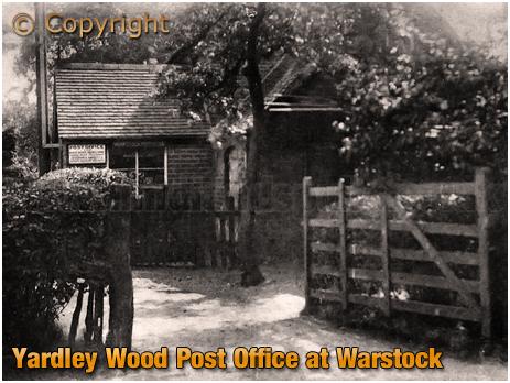 Birmingham : Yardley Wood Post Office at Warstock [c.1910]