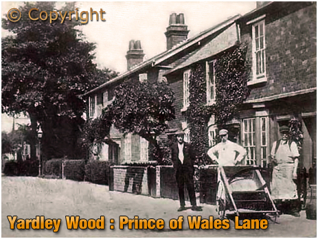Birmingham : Prince of Wales Lane in Yardley Wood [c.1912]