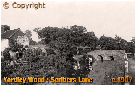 Birmingham : Scribers Lane at Yardley Wood [c.1907]