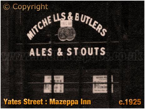History of the Mazeppa Inn on Yates Street at Aston