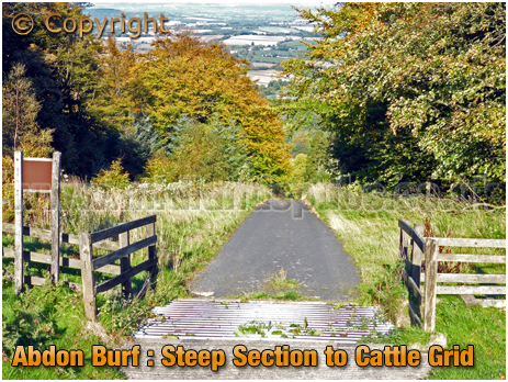 Brown Clee : Steep Section to Cattle Grid at Abdon Burf [2018]