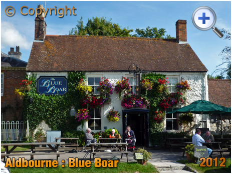 Wiltshire : The Blue Boar at Aldbourne [2012]