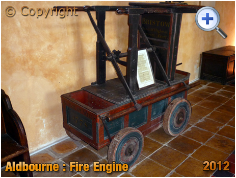 Wiltshire : Fire Engine in the Church of Saint Michael at Aldbourne [2012]