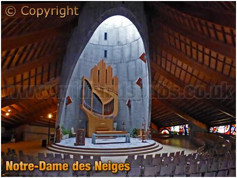 L'Alpe d'Huez : Notre-Dame des Neiges [Our Lady of the Snows]