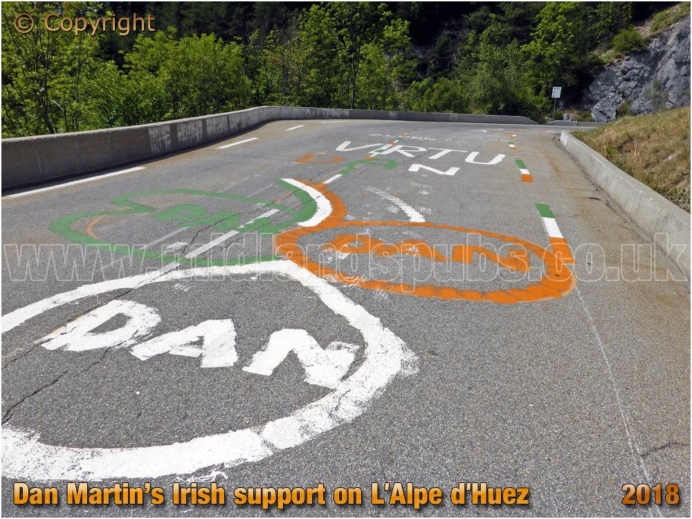 Dan Martin's Irish Support on L'Alpe d'Huez [2018]