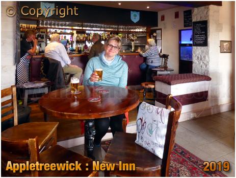 Appletreewick : Bar of the New Inn [September 2019]