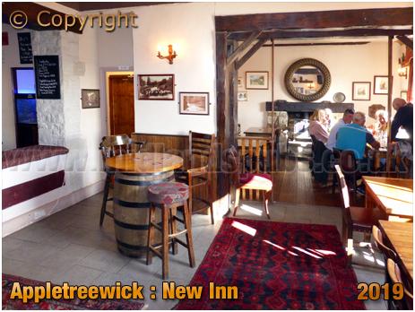 Appletreewick : Interior of the New Inn [September 2019]