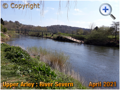 Upper Arley : Picnic Spot overlooking the River Severn [2021]