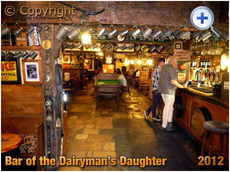 Isle of Wight : Bar of the Dairyman's Daughter at Arreton [2012]