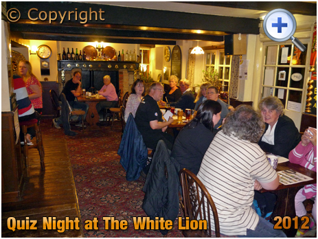 Isle of Wight : Quiz Night at The White Lion in Arreton [2012]