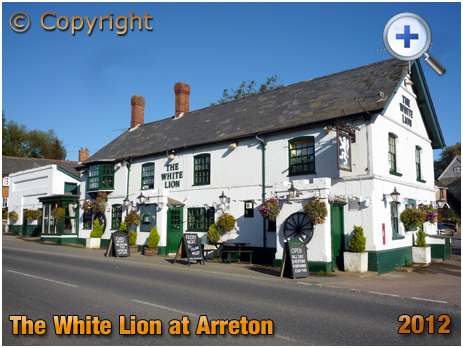 Isle of Wight : The White Lion at Arreton [2012]