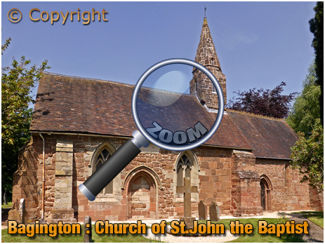 Baginton : Church of Saint John the Baptist [2018]