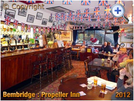 Isle of Wight : The Propeller Inn at Bembridge [2012]
