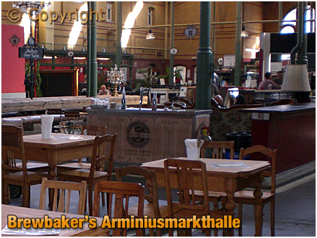 Berlin : Brewbaker's in Arminiusmarkthalle Moabit [September 2016]