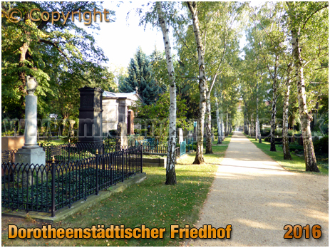 Berlin : Dorotheenstädtischer Friedhof [September 2016]