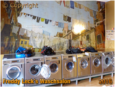 Berlin : Freddy Leck's Waschsalon on Gotzkowskystraße [September 2016]
