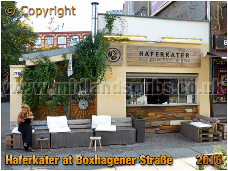 Berlin : Haferkater at Boxhagener Straße [September 2016]