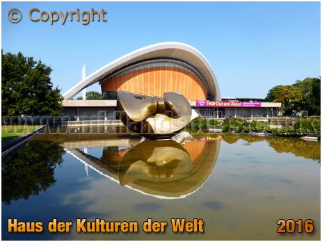 Berlin : Haus der Kulturen der Welt from John-Foster-Dulles-Allee [September 2016]