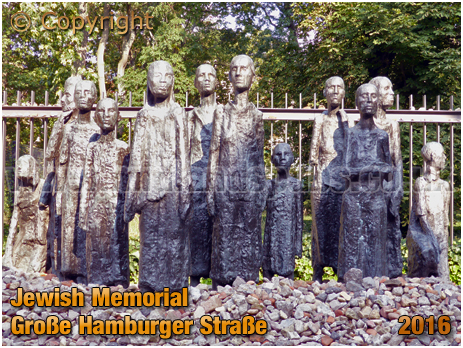 Berlin : Jewish Memorial at Große Hamburger Straße [September 2016]