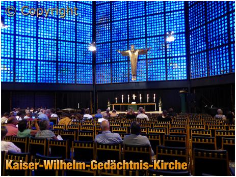 Berlin : Kaiser-Wilhelm-Gedächtnis-Kirche [September 2016]