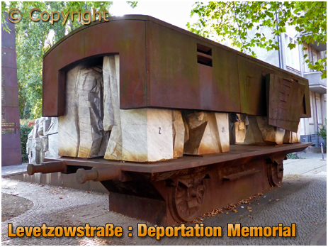 Berlin : Deportation Memorial on Levetzowstraße [September 2016]