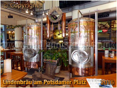 Berlin : Lindenbräu am Potsdamer Platz [September 2016]
